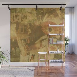 LOK Live Love Montage Wall Mural