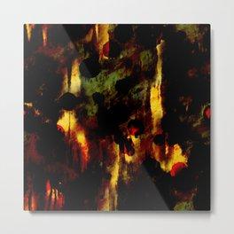 Oil dark art painting Metal Print