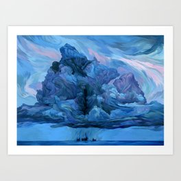 Clouds #12 Art Print