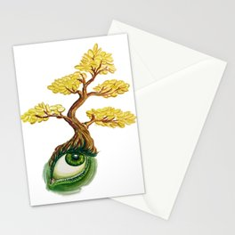 money tree: invision wealth Stationery Cards