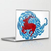 elk Laptop & iPad Skins featuring Elk by Deadbirds