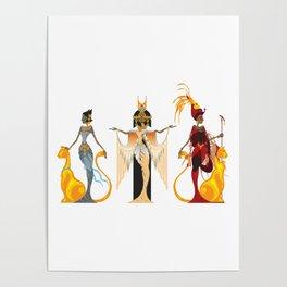 The Divas of Egypt Poster