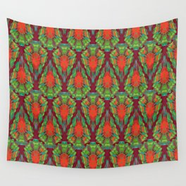 Abstract feathers 1a Wall Tapestry