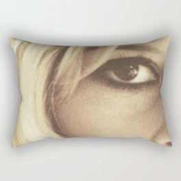 Brigitte Bardot, Contempt, movie poster, Le Mépris, Jean-Luc Godard, Fritz Lang, Rectangular Pillow