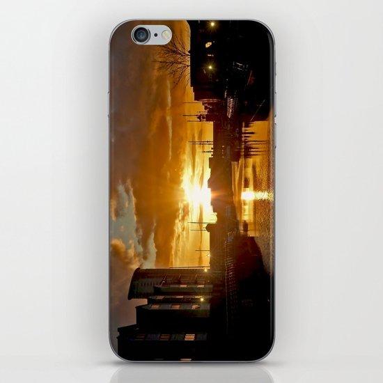 Sunset in Swansea iPhone & iPod Skin