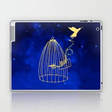 Let your heart fly Laptop & iPad Skin