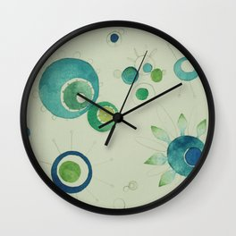 Bloom Space No.3 Wall Clock