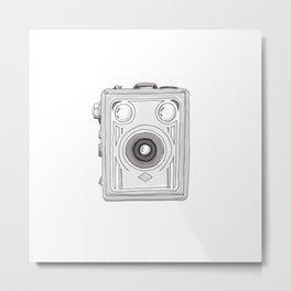 Vintage Camera 3.1 Metal Print