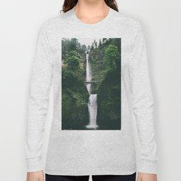 Multnomah Falls III Long Sleeve T-shirt