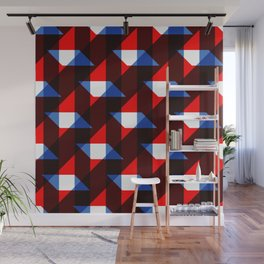 Squares Wall Mural
