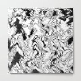 Interference Metal Print