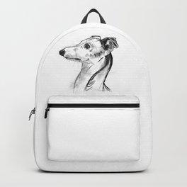 Italian Greyhound Sketch Backpack