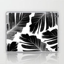 Tropical Black Banana Leaves Dream #1 #decor #art #society6 Laptop & iPad Skin