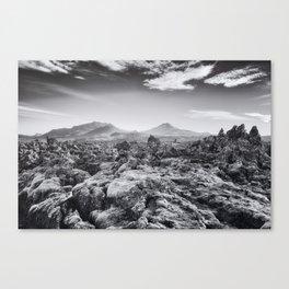 Lava Field VI Canvas Print