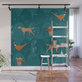 bird dogs Wall Mural