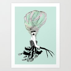 Feather Spirit Art Print