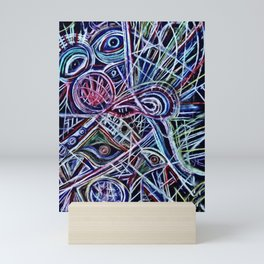 Eyes on a dancefloor Mini Art Print