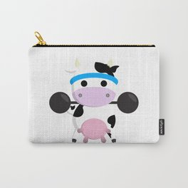 TeeTee - The Aerobic Cow #04 Carry-All Pouch