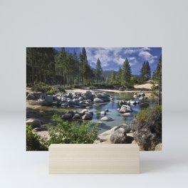 Sand Harbor - Lake Tahoe  Mini Art Print
