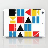 bauhaus iPad Cases featuring Fuck Yeah Bauhaus! by Picomodi
