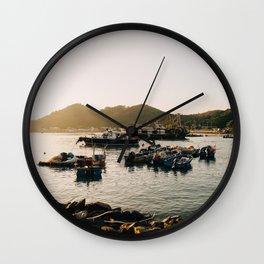 Sunset at Tai O Wall Clock