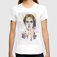 lana T-shirts featuring Lana by Kim Maria Morrow