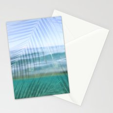 Palms over water  Stationery Cards