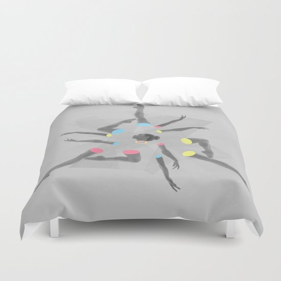 Break Dancer Duvet Cover