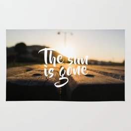 The Sun is Gone Rug