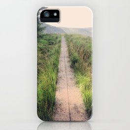 path before me iPhone Case
