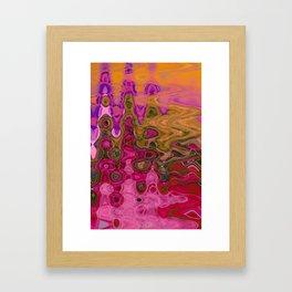 klimt kool-aid Framed Art Print