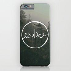 Explore Oregon Forest Slim Case iPhone 6