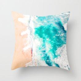 Va Bene Beach Throw Pillow