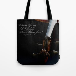 Delirious Place Tote Bag
