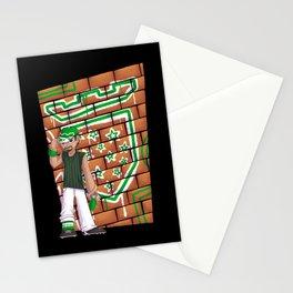 Star Team Graffiti (for him) Stationery Cards