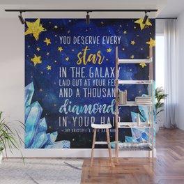 Star and Diamonds Wall Mural