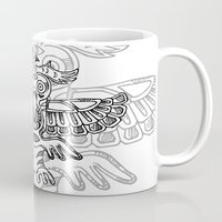 totem Mugs featuring Totem by rafo