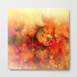 Prato di fiori Metal Print