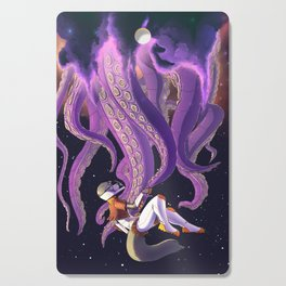 Space Vixen - Diplomatic welcome Cutting Board