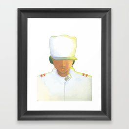KL Portrait Framed Art Print