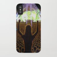 concert iPhone & iPod Cases featuring The Concert by Vargamari