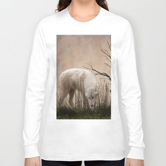 Woodland Wolf Long Sleeve T-shirt