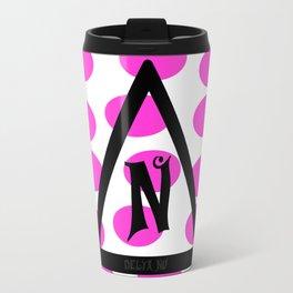 Delta Nu Travel Mug