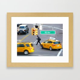 Oblivous Framed Art Print