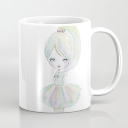 Pastel rainbow doll Coffee Mug