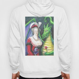 Marie Antoinette and the Dragon Hoody
