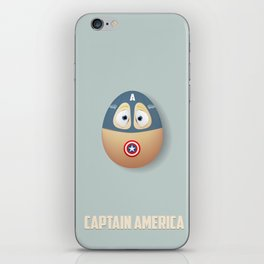 Capt. America Egg iPhone Skin