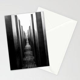Holocaust memorial Geometry Stationery Cards