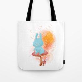 Kit Tea Rabbit Tote Bag