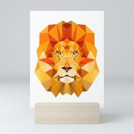 Lion, The King of the Jungle Mini Art Print